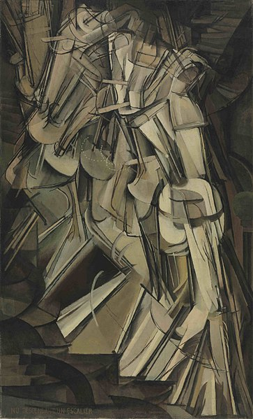 Marcel Duchamp, Nude Descending Staircase No. 2